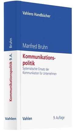 Kommunikationspolitik von Bruhn,  Manfred