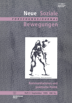 Kommunitarismus und praktische Politik von Klein,  Ansgar, Legrand,  Jupp, Leif,  Thomas