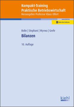 Kompakt-Training Bilanzen von Bolin,  Manfred, Grefe,  Cord, Olfert,  Klaus, Stephani,  Michael, Wyrwa,  Sven