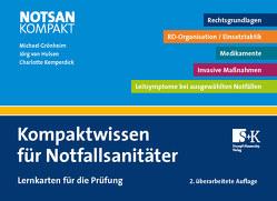Kompaktwissen für Notfallsanitäter von Grönheim,  Michael, Kemperdick,  Charlotte, van Hulsen,  Jörg