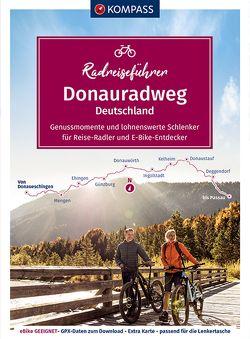 KOMPASS RadReiseFührer Erlebnis Donauradweg Deutschland von Enke,  Ralf