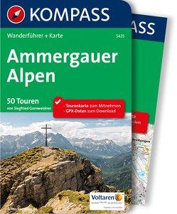 Kompass Wanderführer Ammergauer Alpen