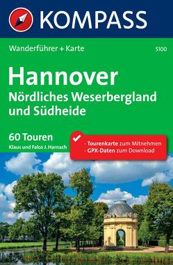 Kompass Wanderführer Hannover, Nördliches Weserbergland und Südheide