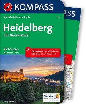 Kompass Wanderführer Heidelberg