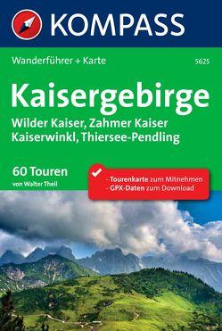 Kompass Wanderführer Kaisergebirge