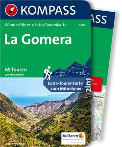 Kompass Wanderführer La Gomera