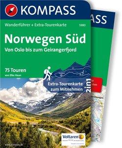 Kompass Wanderführer Norwegen Süd