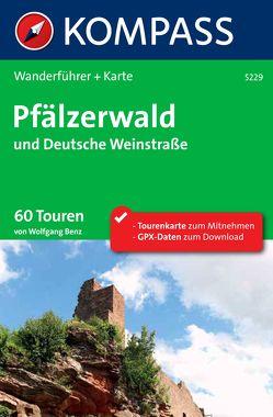 Kompass Wanderführer Pfälzerwald und Deutsche Weinstraße