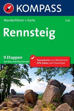 Kompass Wanderführer Rennsteig