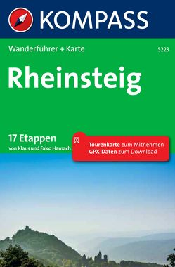 Kompass Wanderführer Rheinsteig