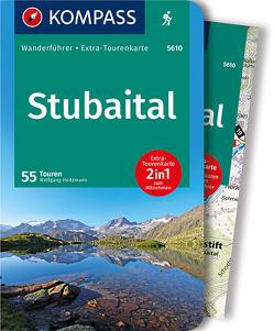 KOMPASS Wanderführer Stubaital von Heitzmann,  Wolfgang