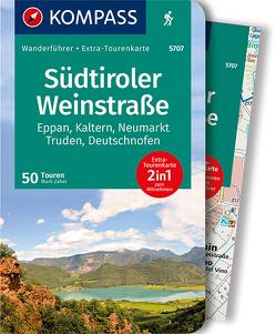 KOMPASS Wanderführer Südtiroler Weinstraße von Zahel,  Mark
