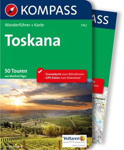 Kompass Wanderführer Toskana