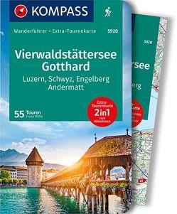 KOMPASS Wanderführer Vierwaldstättersee, Gotthard von Wille,  Franz