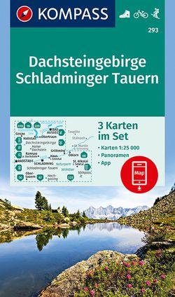 KOMPASS Wanderkarte Dachsteingebirge, Schladminger Tauern von KOMPASS-Karten GmbH