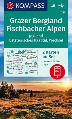 KOMPASS Wanderkarte Grazer Bergland, Fischbacher Alpen von KOMPASS-Karten GmbH