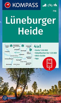 KOMPASS Wanderkarte Lüneburger Heide von KOMPASS-Karten GmbH