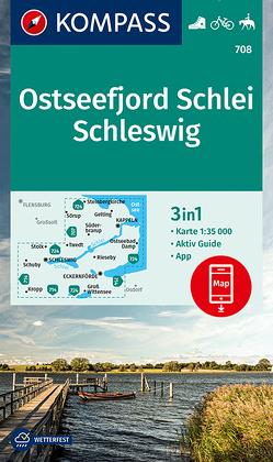 KOMPASS Wanderkarte Ostseefjord Schlei, Schleswig von KOMPASS-Karten GmbH