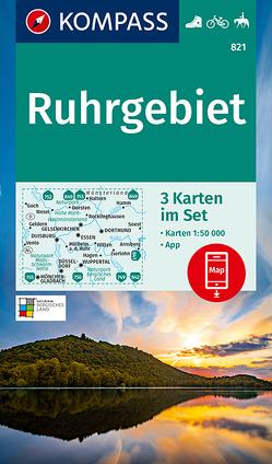 KOMPASS Wanderkarte Ruhrgebiet von KOMPASS-Karten GmbH