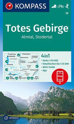 KOMPASS Wanderkarte Totes Gebirge, Almtal, Stodertal von KOMPASS-Karten GmbH