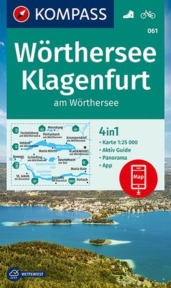 KOMPASS Wanderkarte Wörthersee, Klagenfurt am Wörthersee von KOMPASS-Karten GmbH