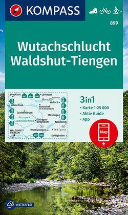 KOMPASS Wanderkarte Wutachschlucht, Waldshut, Tiengen von KOMPASS-Karten GmbH