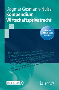 Kompendium Wirtschaftsrecht von Gesmann-Nuissl,  Dagmar