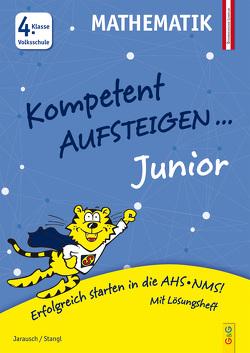 Kompetent Aufsteigen Junior Mathematik 4. Klasse VS von Jarausch,  Susanna, Stangl,  Ilse
