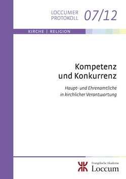 Kompetenz und Konkurrenz von Goldenstein,  Johannes