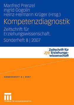 Kompetenzdiagnostik von Gogolin,  Ingrid, Krüger,  Heinz Hermann, Prenzel,  Manfred