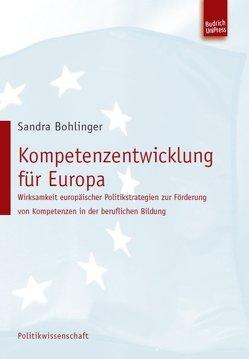 Kompetenzentwicklung für Europa von Bohlinger,  Sandra