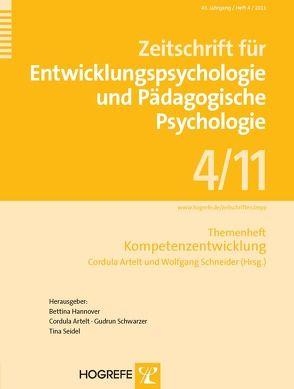 Kompetenzentwicklung von Artelt,  Cordula, Schneider,  Wolfgang