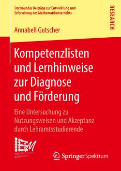 Kompetenzlisten und Lernhinweise zur Diagnose und Förderung von Gutscher,  Annabell