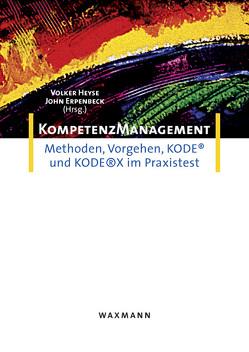 Kompetenzmanagement von Erpenbeck,  John, Heyse,  Volker