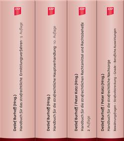 Komplettpaket für den Strafverteidiger von Detlef,  Burhoff