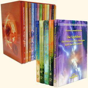 Komplettset der Schriftenreihen Organ-Konflikt-Heilung UND Miasmatische Heilkunst in 17 Bänden von Sonnenschmidt,  Rosina