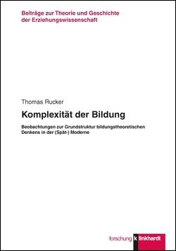 Komplexität der Bildung von Rücker,  Thomas
