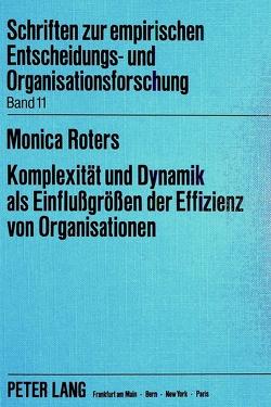 Komplexität und Dynamik als Einflussgrössen der Effizienz von Organisationen von Heise,  Monica