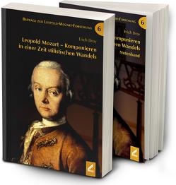 Leopold Mozart – Komponieren in einer Zeit stilistischen Wandels von Broy,  Erich