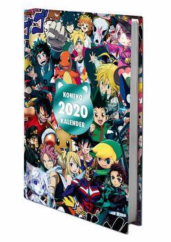 Koneko Kalender 2020 von raptor publishing