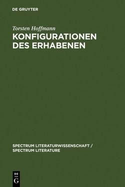 Konfigurationen des Erhabenen von Hoffmann,  Torsten