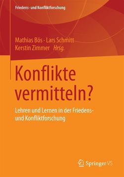 Konflikte vermitteln? von Bös,  Mathias, Schmitt,  Lars, Zimmer,  Kerstin