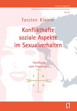 Konflikthafte soziale Aspekte im Sexualverhalten (KV-SAS) von Klemm,  Torsten