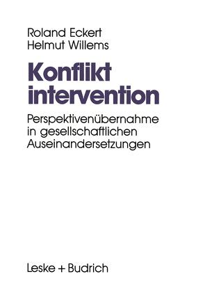 Konfliktintervention von Eckert,  Roland