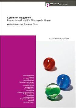 Konfliktmanagement von Meyer,  Gerhard, Züger Conrad,  Rita-Maria