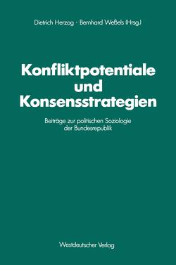 Konfliktpotentiale und Konsensstrategien von Herzog,  Dietrich, Weßels,  Bernhard