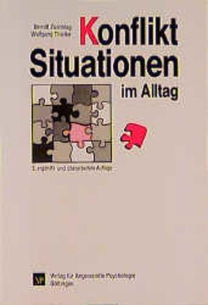 Konfliktsituationen im Alltag von Thielke,  Wolfgang, Zuschlag,  Berndt