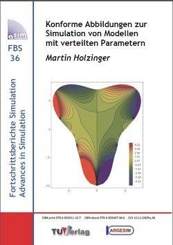 Konforme Abbildungen zur Simulation von Modellen mit verteilten Parametern von Holzinger,  Martin
