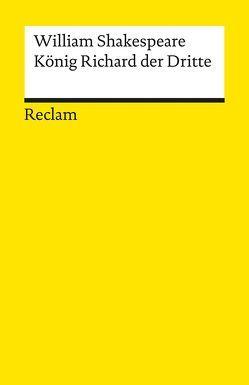 König Richard III. von Schlegel,  August W, Shakespeare,  William