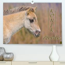 Konik-Pferde (Premium, hochwertiger DIN A2 Wandkalender 2021, Kunstdruck in Hochglanz) von Kulartz,  Rainer, Plett,  Lisa